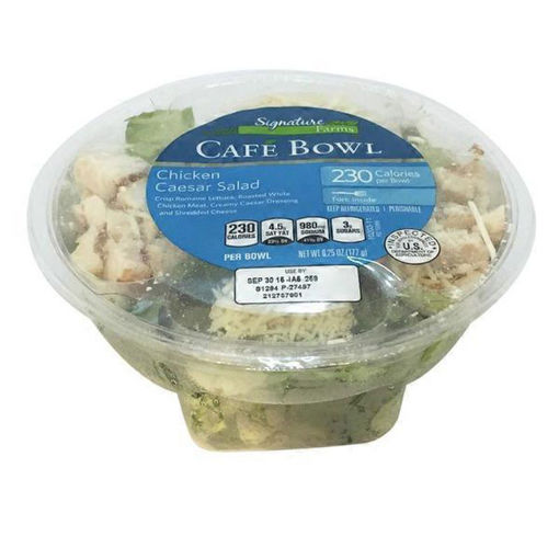Picture of Signature Farms Cafe Bowl Chicken Caesar Salad