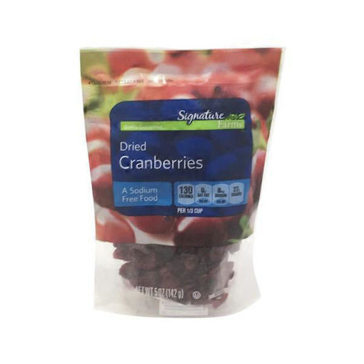 Picture of Signature Farms Cranberries Dried