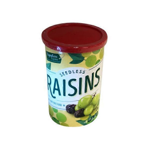 Picture of Signature Farms Raisins Seedless