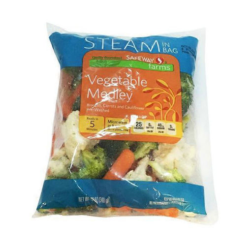 Picture of Signature Farms Vegetable Medley Steam In Bag