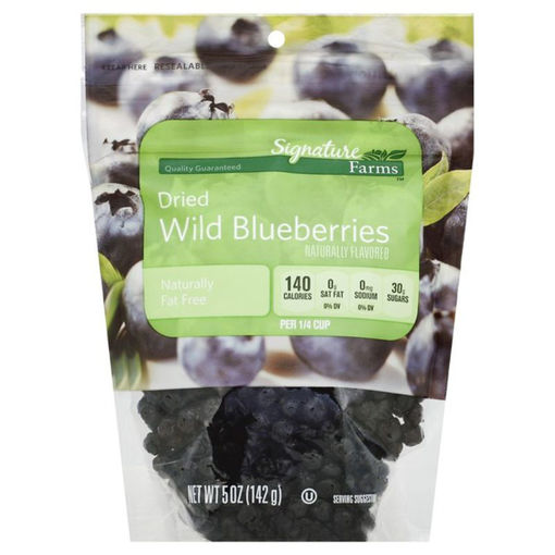 Picture of Signature Farms Wild Blueberries Dried