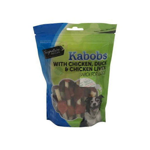 Picture of Signature Pet Care Dog Chews Kabob Chicken Beef & Pork