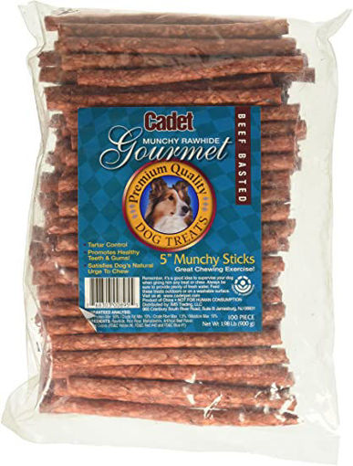 Picture of Signature Pet Care Dog Treat Munchy Sticks Beef Basted