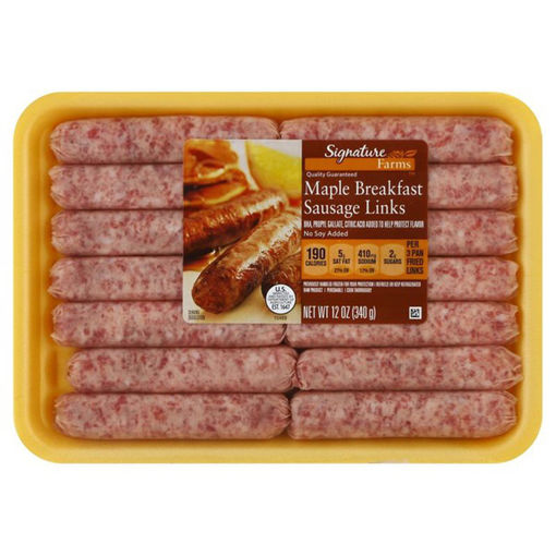 Picture of Signature Sausage Breakfast Links Maple