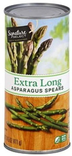 Picture of Signature SELECT Asparagus Spears Extra Long