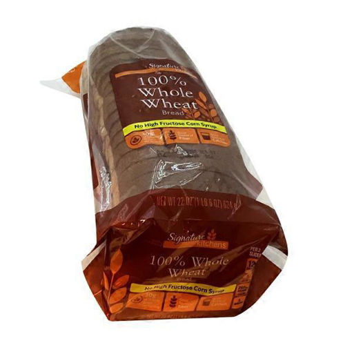 Picture of Signature SELECT Bread 100% Whole Wheat
