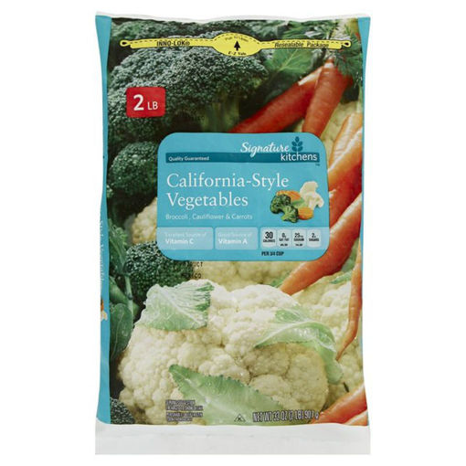 Picture of Signature SELECT Broccoli Parisienne Style Carrots & Cauliflower Steam In Bag