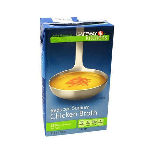 Picture of Signature SELECT Broth Chicken Reduced Sodium