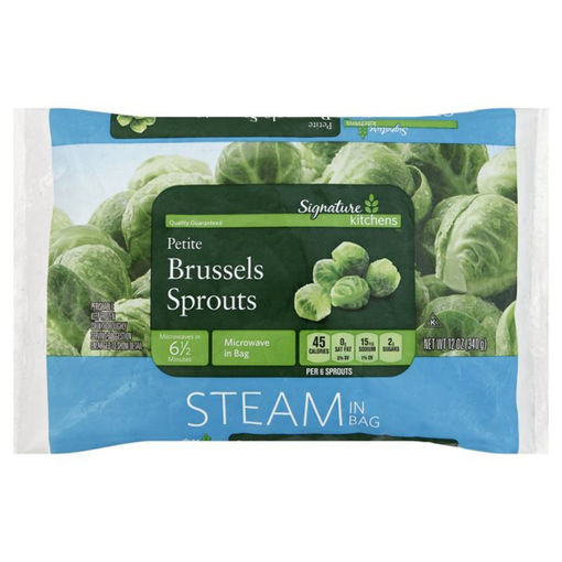 Picture of Signature SELECT Brussels Sprouts Petite Steam In Bag
