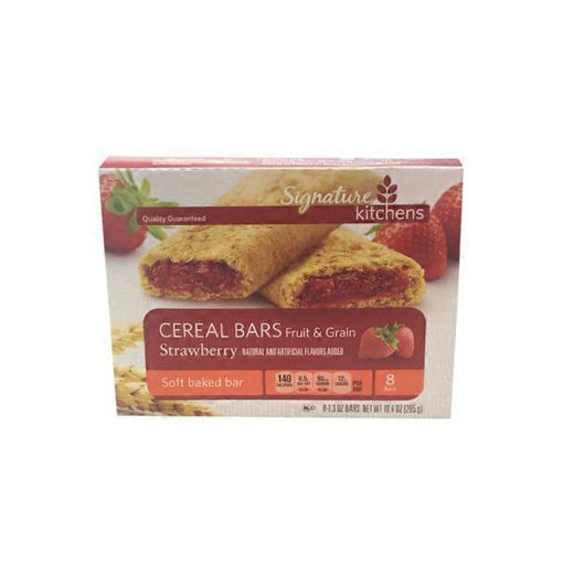 Picture of Signature SELECT Cereal Bars Fruit & Grain Strawberry