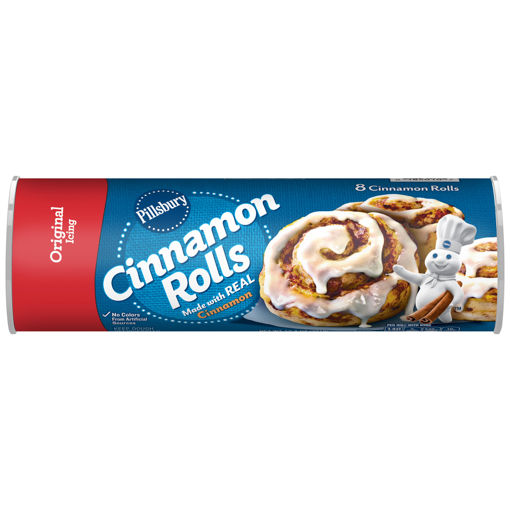 Picture of Signature SELECT Cinnamon Rolls with Icing 8 Count