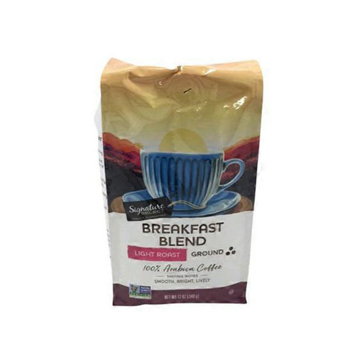 Picture of Signature SELECT Coffee Ground Light Roast Breakfast Blend