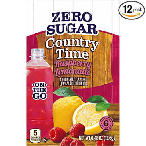 Picture of Signature Select Drink Mix Raspberry Lemonade