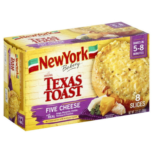 Picture of Signature SELECT Garlic Toast Five-Cheese 8 Count