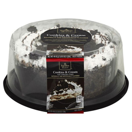 Picture of Signature SELECT Ice Cream Cake Cookies & Cream 8 Inch