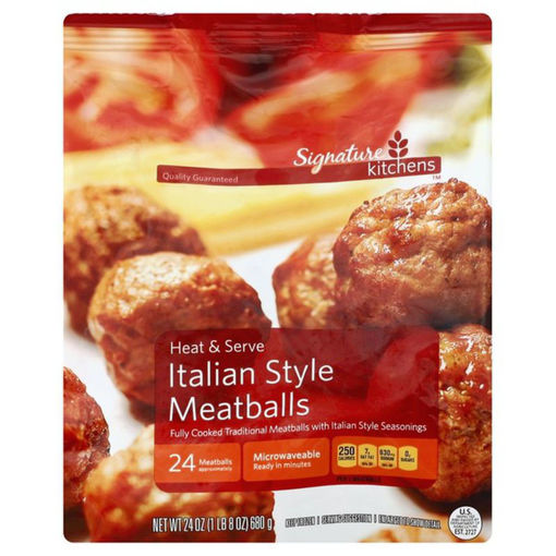 Picture of Signature SELECT Meatballs Italian Style