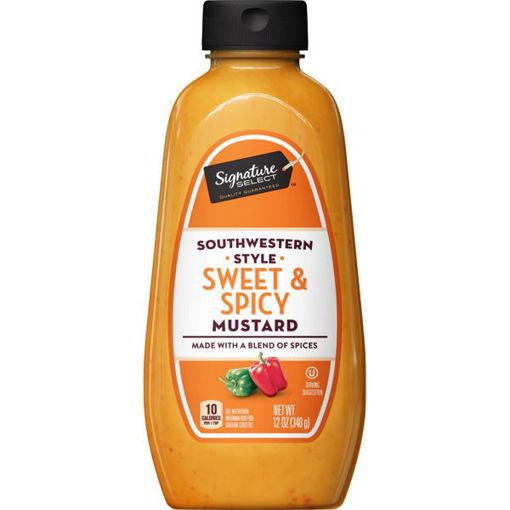Picture of Signature SELECT Mustard Southwestern Style Sweet & Spicy Bottle
