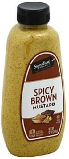 Picture of Signature SELECT Mustard Spicy Brown Bottle