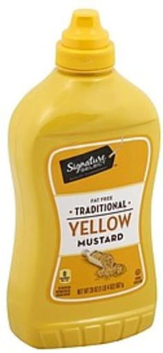 Picture of Signature SELECT Mustard Traditional Yellow Bottle