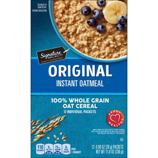 Picture of Signature SELECT Oatmeal Instant Fruit & Cream Variety Pack