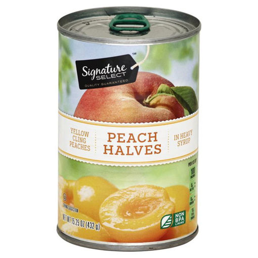 Picture of Signature SELECT Pear Halves Bartlett in Heavy Syrup