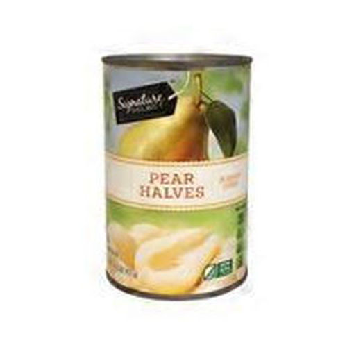 Picture of Signature SELECT Pear Halves in Heavy Syrup Can