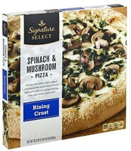 Picture of Signature SELECT Pizza Rising Crust Spinach & Mushroom Frozen