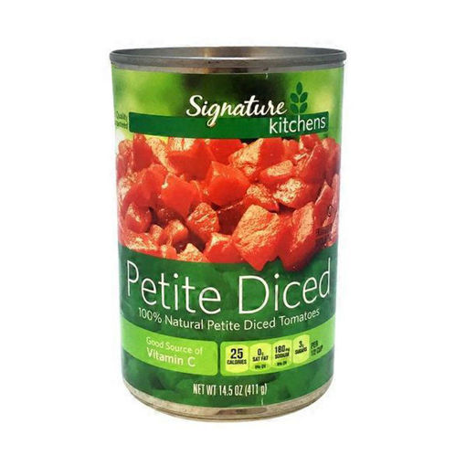 Picture of Signature SELECT Tomatoes Diced Petite