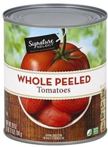 Picture of Signature SELECT Tomatoes Peeled Whole