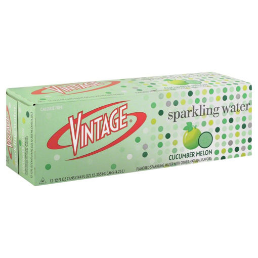 Picture of Signature SELECT Water Sparkling Cucumber Melon