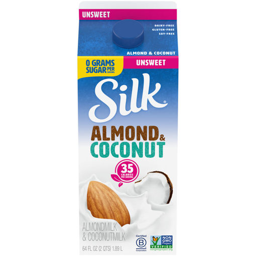 Picture of Silk Almond Coconut Blend Original Unsweetened