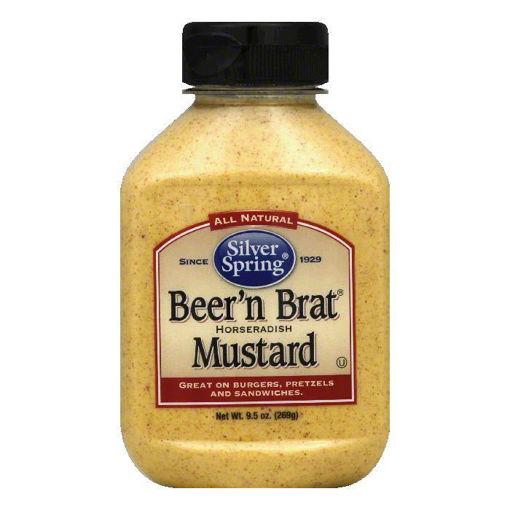 Picture of Silver Spring Mustard Beer n Brat Horseradish