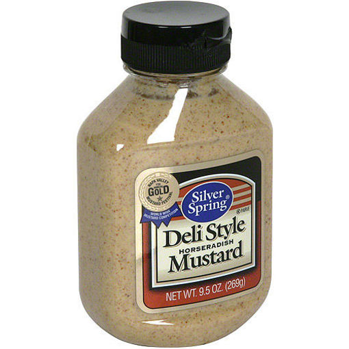 Picture of Silver Spring Mustard Horseradish Deli Style