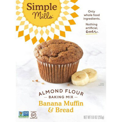 Picture of Simple Mills Almond Flour Mix Banana Muffin