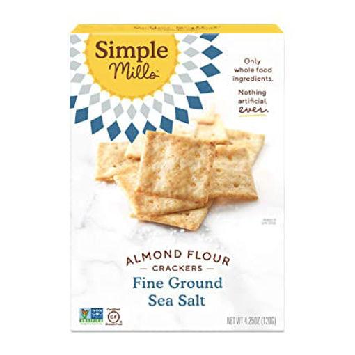 Picture of Simple Mills Fine Ground Sea Salt Almond Flour Crackers
