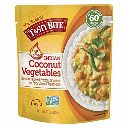 Picture of Tasty Bite Coconut Vegetables Indian Hot & Spicy