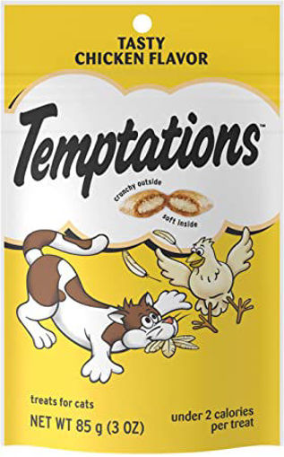 Picture of Temptations Treats For Cats Tasty Chicken Flavor Pouch