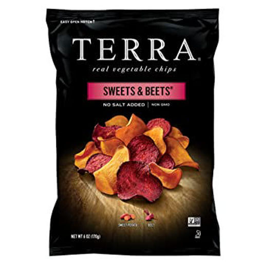 Picture of TERRA Vegetable Chips Sweet Potato No Salt Added