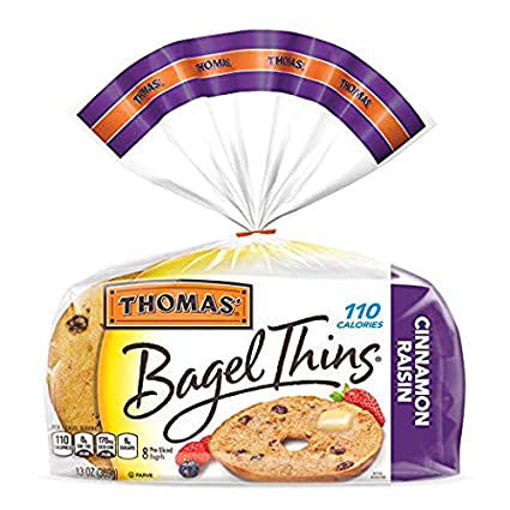 Picture of Thomas Bagel Thins Everything 8 Count