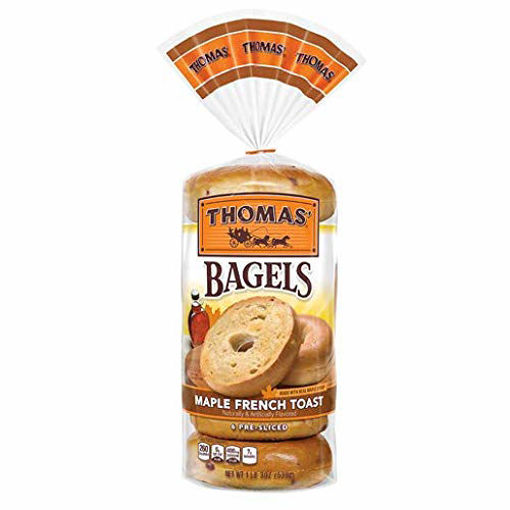 Picture of Thomas Bagels Cinnamon Raisin Pre Sliced 6 Count