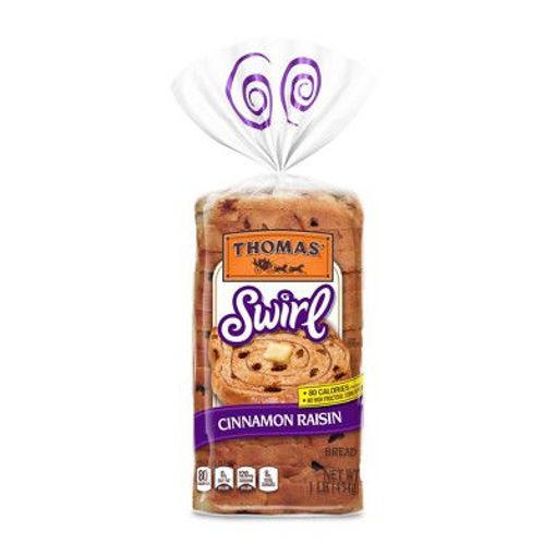 Picture of Thomas Bread Cinnamon Raisin Swirl