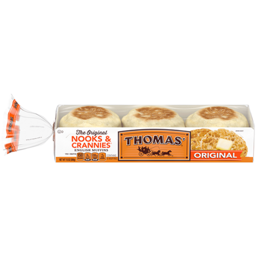 Picture of Thomas Nooks & Crannies Bagels Plain