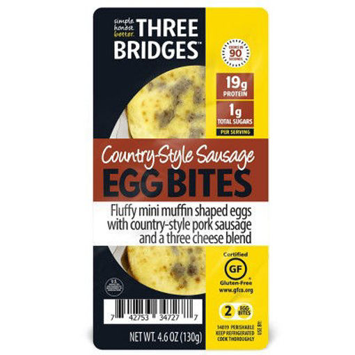 Picture of Three Bridges Country Style Sausage Egg Bites