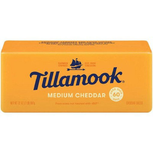 Picture of Tillamook Medium Cheddar Cheese Loaf