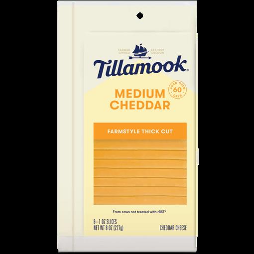 Picture of Tillamook Medium Sliced Cheese