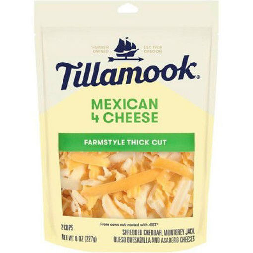 Picture of Tillamook Mexican Finely Shredded Cheese