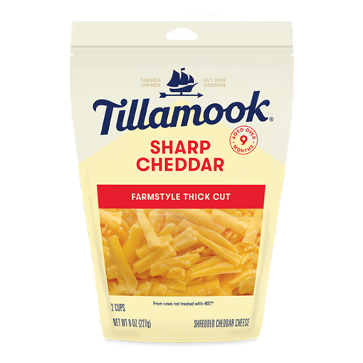 Picture of Tillamook Sharp Cheddar Shredded Cheese