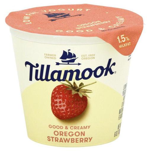 Picture of Tillamook Yogurt Low Fat Strawberry