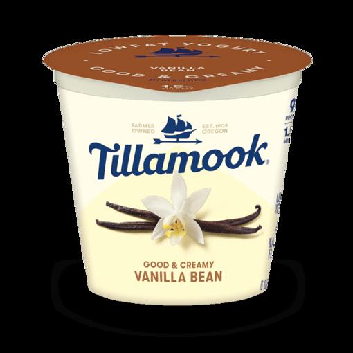 Picture of Tillamook Yogurt Low Fat Vanilla Bean