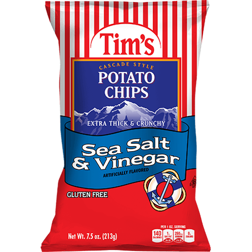 Picture of Tims Chips Sea Salt & Vinegar